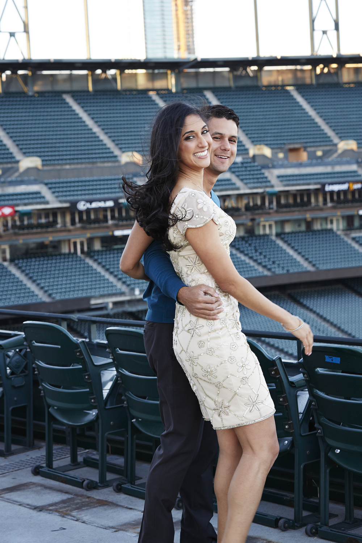 Nisha and Joe Engagement Shoot for Wish Social Events