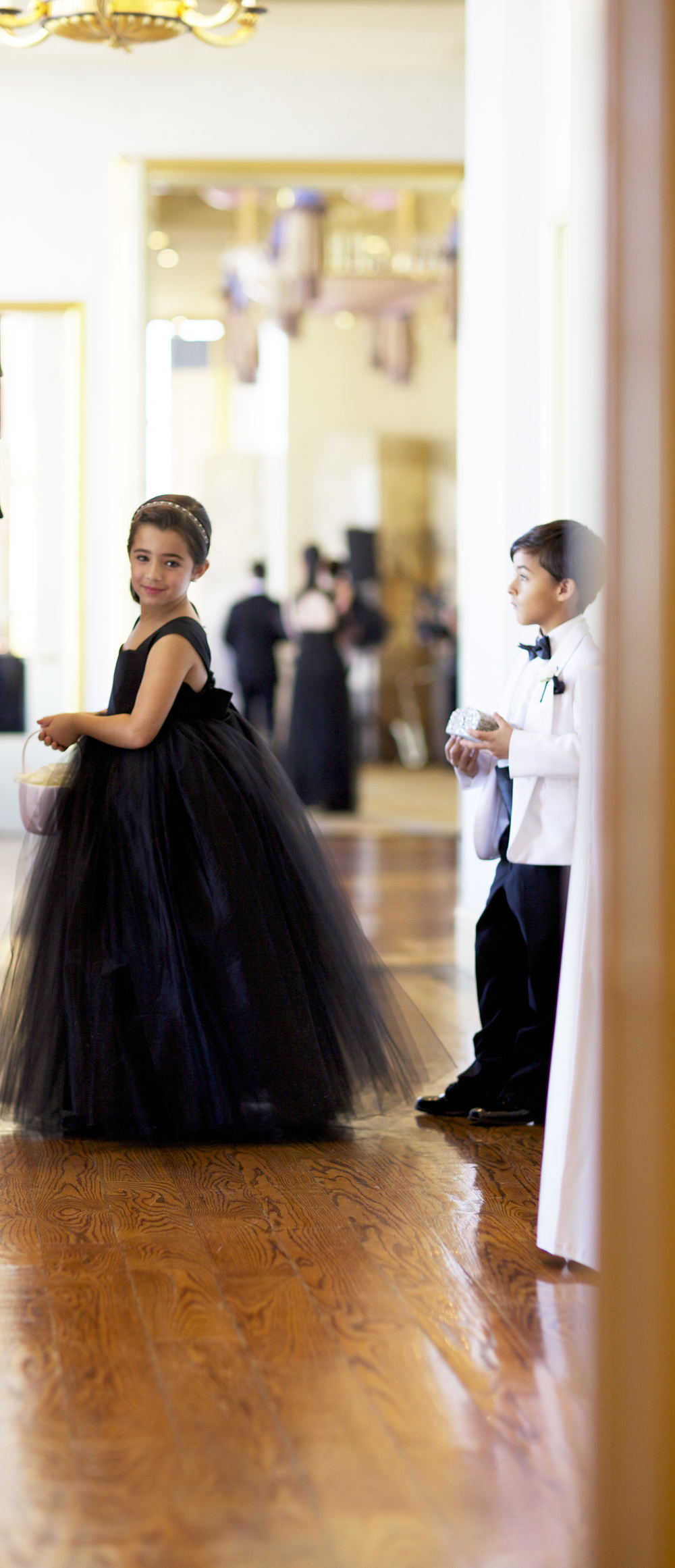 flower girl and ring bearer - wish social events