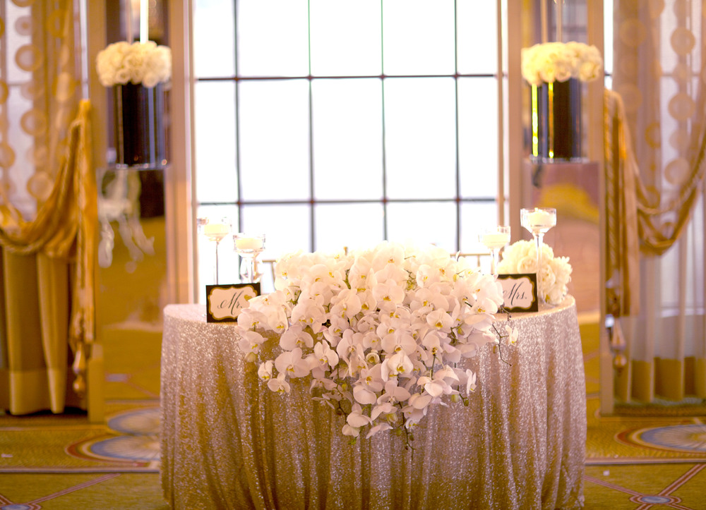 sweetheart table - wish social events