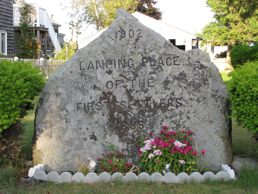 Landing Place of the First Settlers