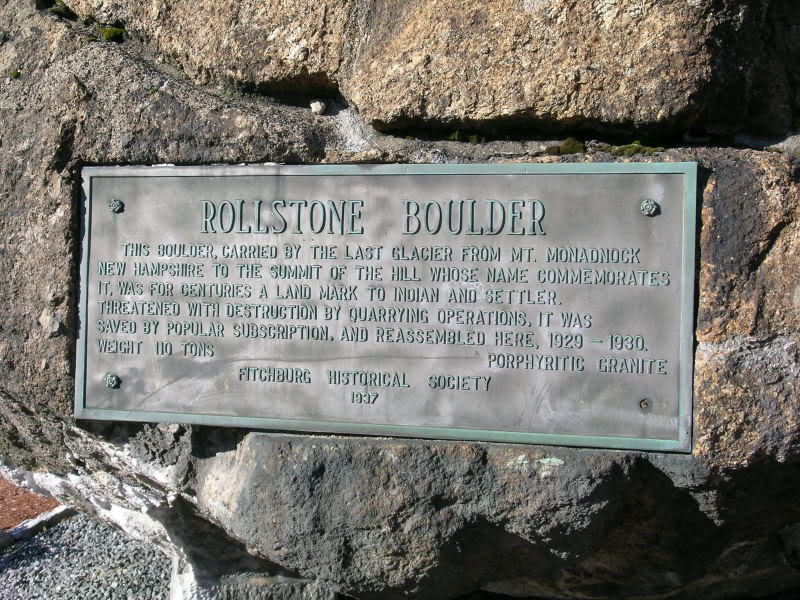 About the Rollstone Boulder - not exactly the whole story!
