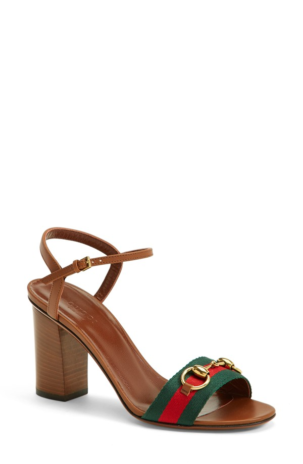 Trust me like you trust 2 bottles of wine after a miserable day at work - these Gucci's pair pretty with nearly everything in  your work wardrobe. Gucci sandals, $625, at  Nordstrom .