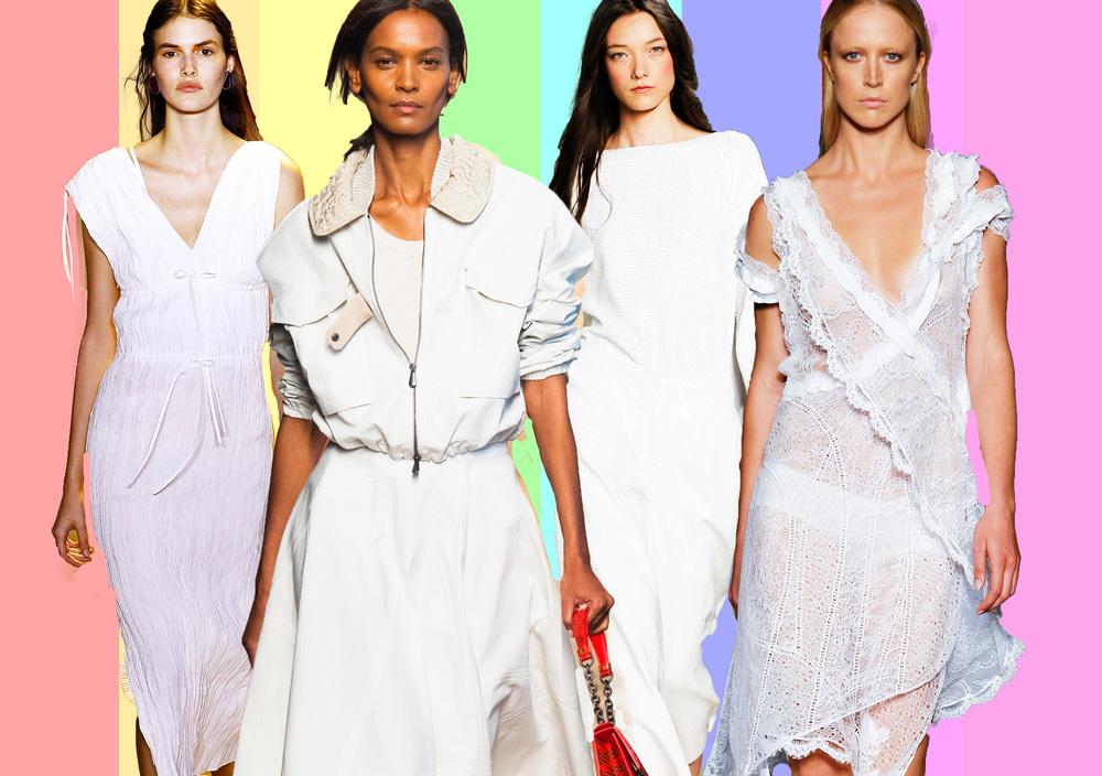 From left: Altuzarra, Max Mara, Tibi, Givenchy.
