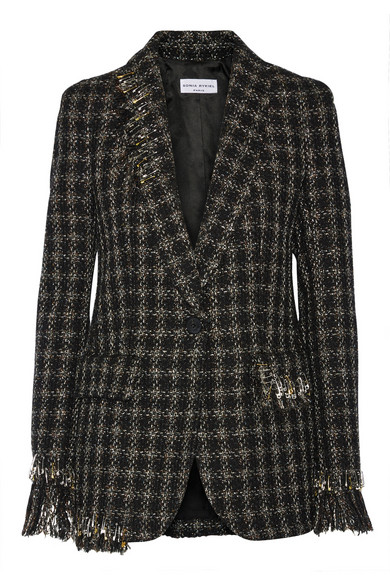 Sonia Rykiel  tweed jacket - was $2,560, now $1,280
