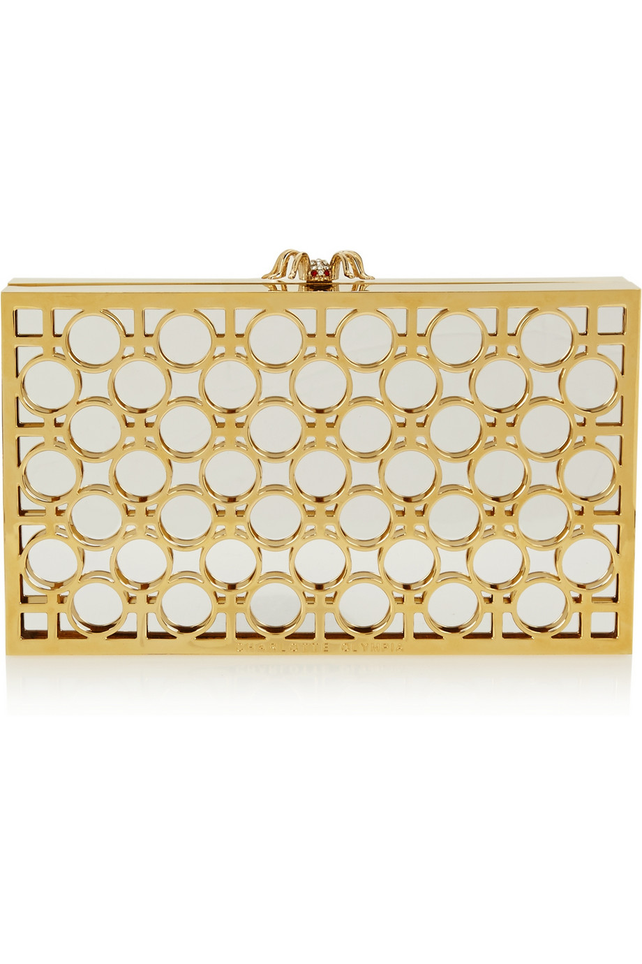 Charlotte Olympia  clutch - was $1,895, now $1,327