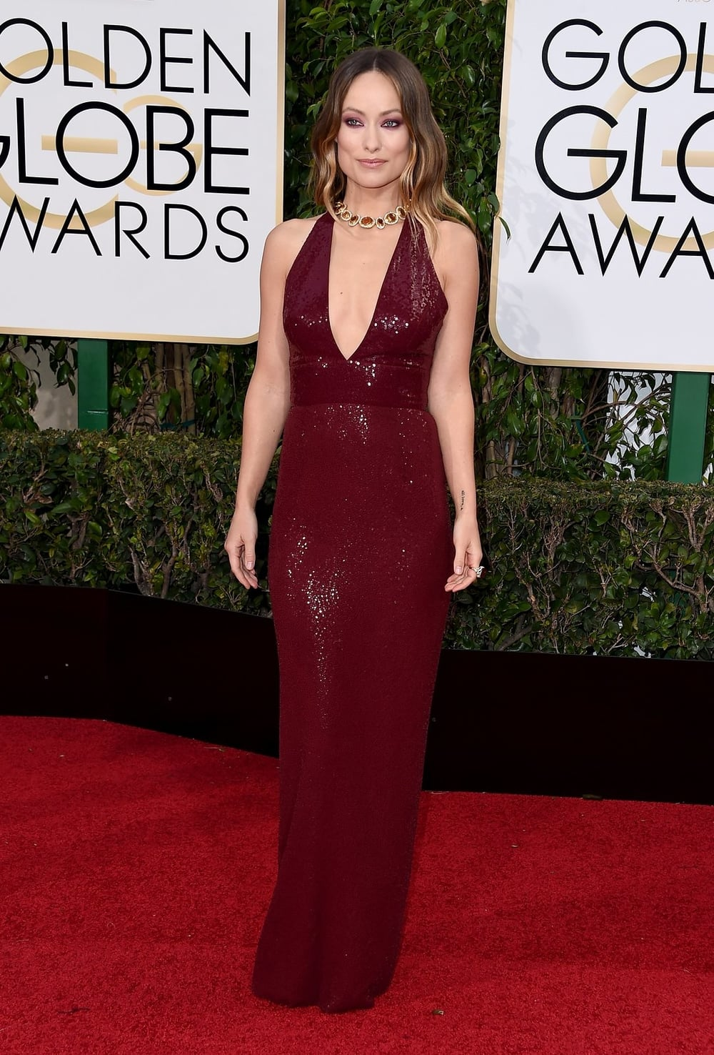 Olivia Wilde in Michael Kors Collection.