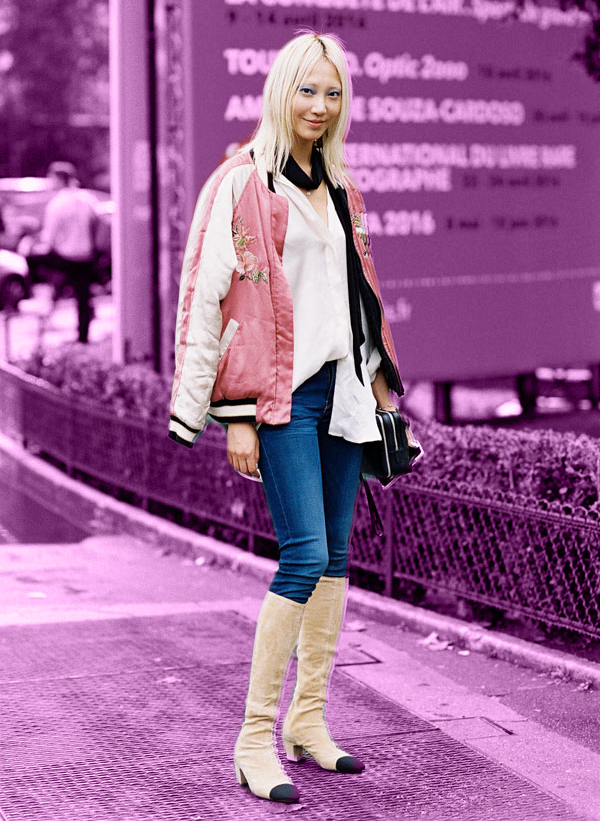 Soo Joo Park by Vanessa Jackman. Edit by The Outfix.