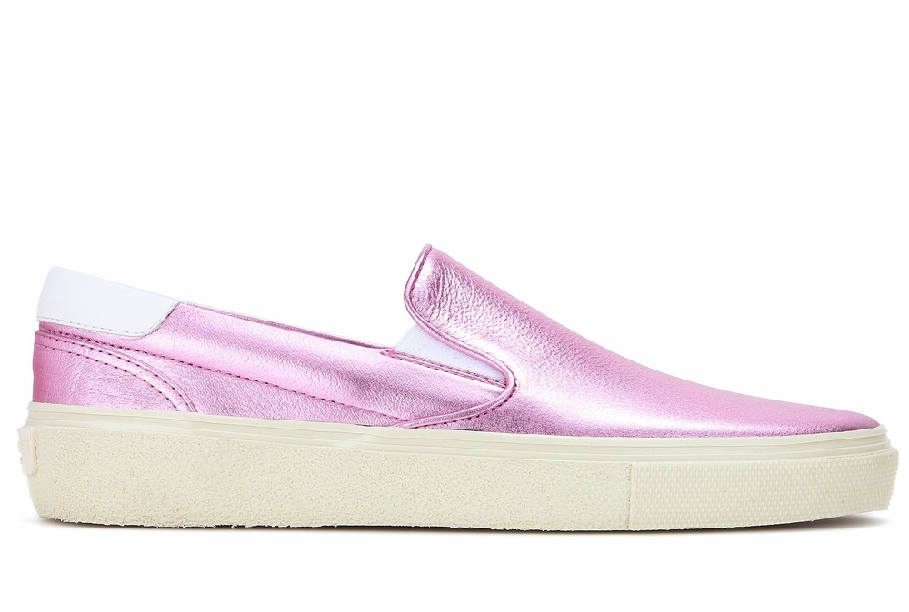 Saint Laurent metallic slipons - Matches.jpg