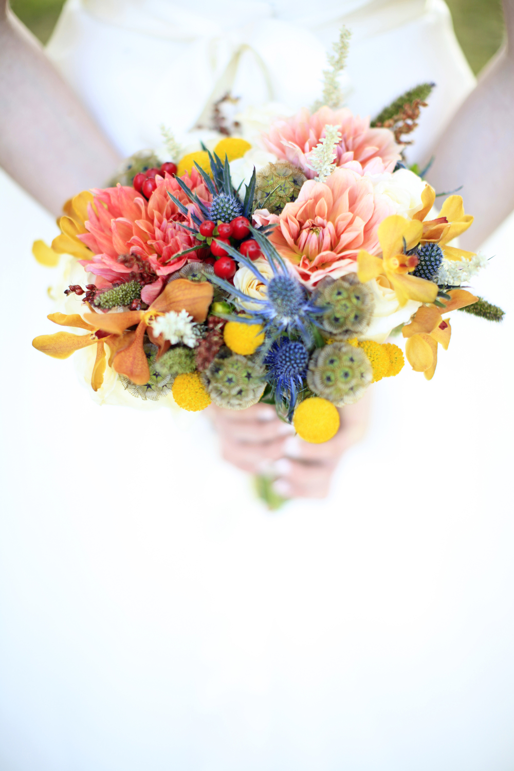 Fall Bridal bouquet by Floral Design by Lili, Vancouver Florist, B.C.