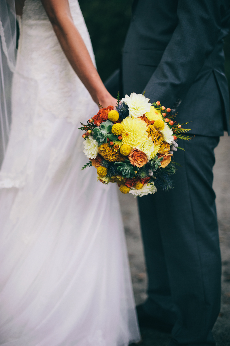 Langley Bridal Bouquet by Floral Design by Lili, Vancouver Wedding Florist, British Columbia.  Image by Sharalee Prang Photography