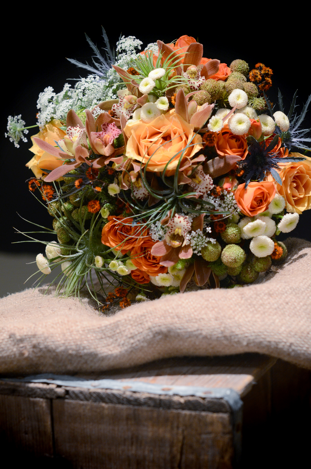 Fall Bridal bouquet by Floral Design by Lili, Vancouver Wedding Florist, British Columbia. Image by Acacia Anne Photography