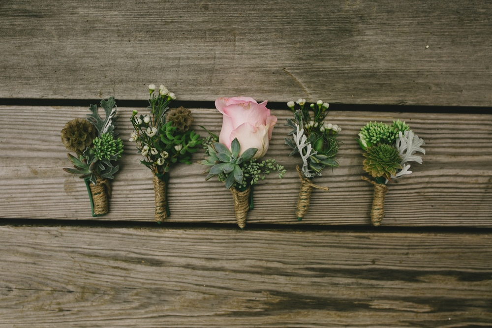 Bouttonniere by  Fraser Valley wedding Florist  , Floral Design by Lili , Image by Sara Rogers Photography