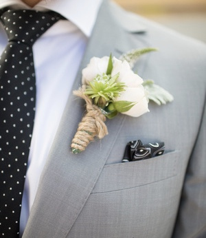 Boutonniere for weddings, by Floral Design by Lili ,  Vancouver/Lower Main land Florist.
