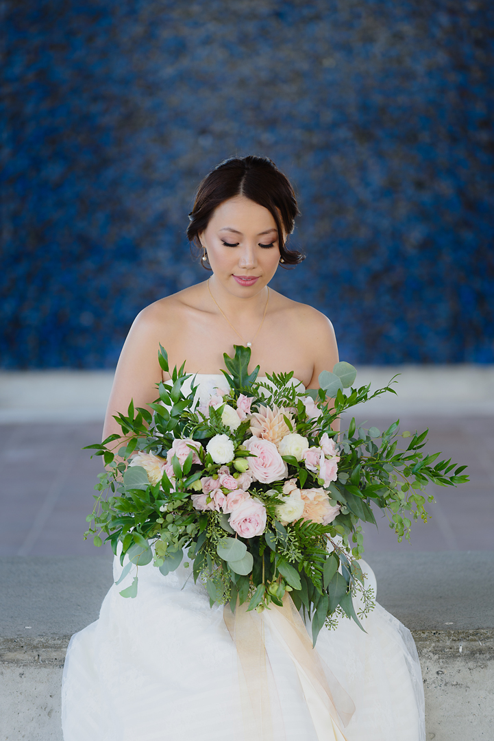 Beautiful Garden style wedding by Vancouver florist, Floral Design by Lili
