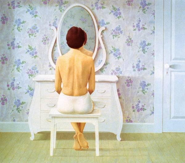 Christopher Pratt, Woman at a Dresser, 1964