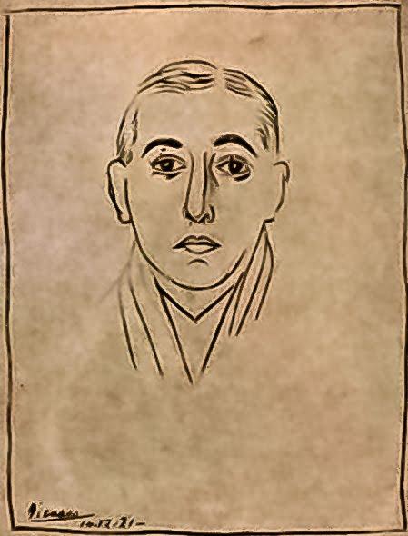 Vicente Huidobro, Picasso