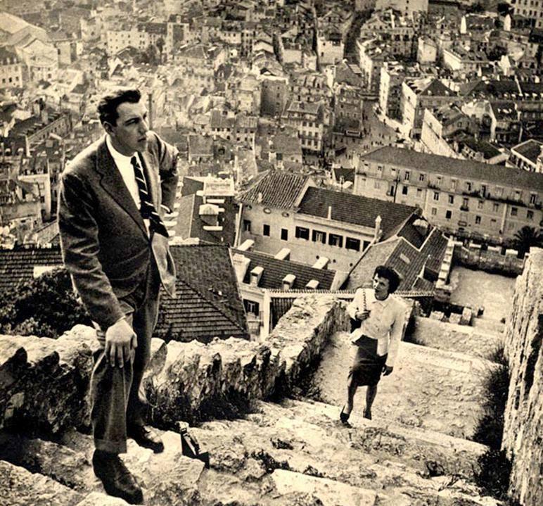 Lisboa vista do Castelo de S. Jorge, Stanley Kubrick, 1948
