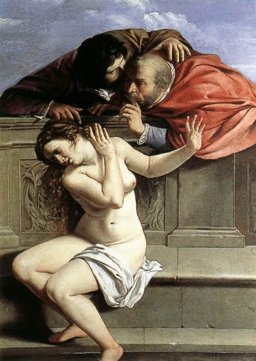 Artemisia Gentileschi. Susanna and the Elders, 1610. The Metropolitan Museum of Art, Collection Graf von Schönborn, Pommersfelden, New York