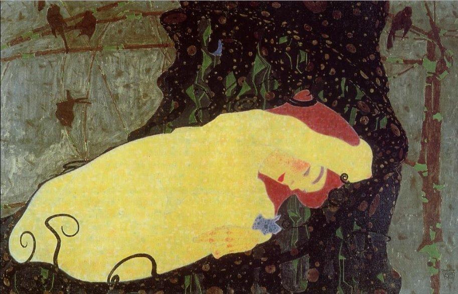 Egon Schiele,Danae