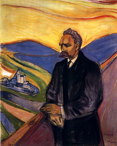 Nietzsche por Edvard Munch
