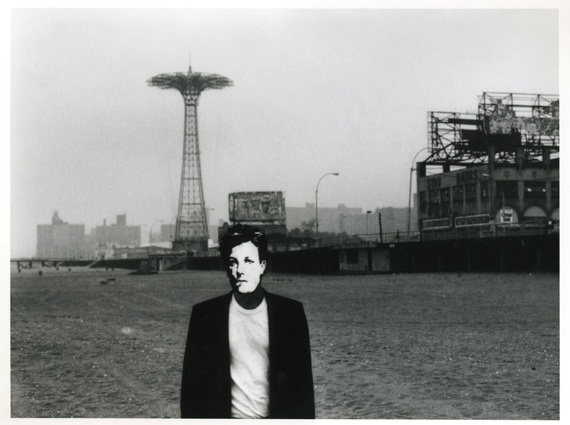 """Arthur Rimbaud in New York (Coney Island)"" / Estate of David Wojnarowicz. """