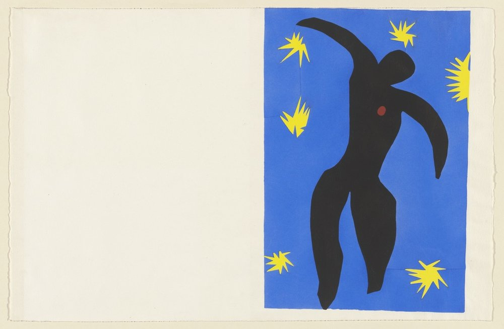 Matisse,  Icare , in  Jazz,  1943 .