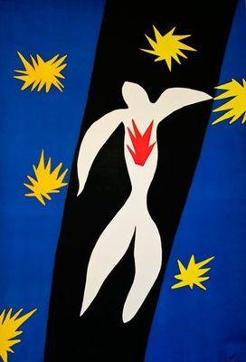 Matisse, La Chute d'Icare, 1947.