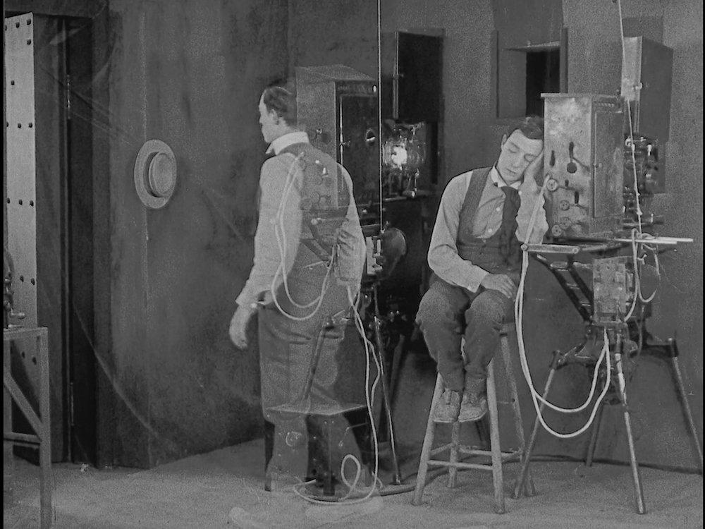 Buster Keaton - Sherlock Jnr (1924) dream.jpg
