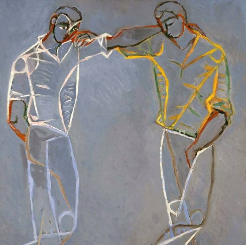 Two Greek Dancers, John Craxton, 1951