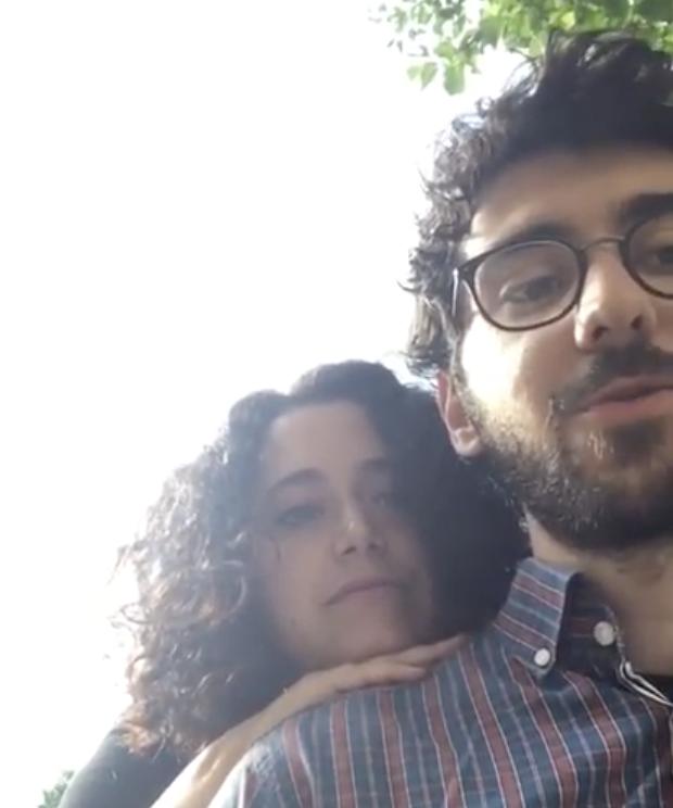 """Francisca Camelo e J. Carlos Teixeira lêem parte do poema """"Depois de Kaprow"""""""