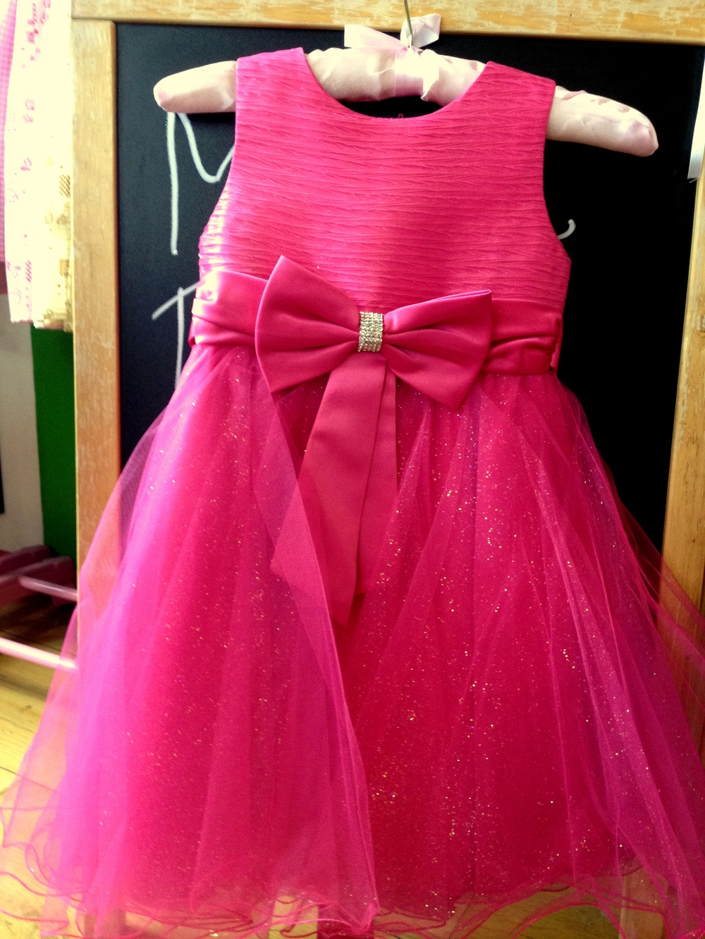 Fucsia Girl Party Dress