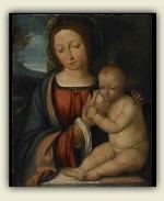 Στο φώς της ημέρας, αυτός ο πίνακας του 16ου αιώνα φαίνεται να έχει διατηρηθεί σε αρκετά καλή κατάσταση.