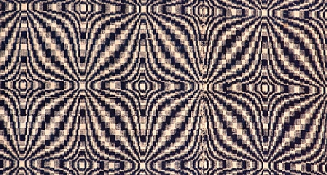 traditional coverlet pattern