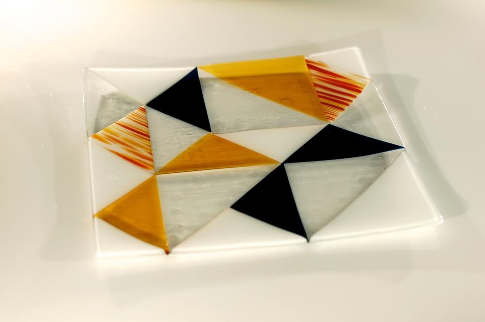 2014   30 x 30 cm   glass (fusing, slumping)