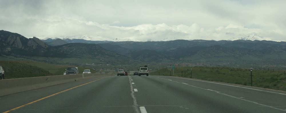 View from US36 near Boulder, Colorado, May 2005