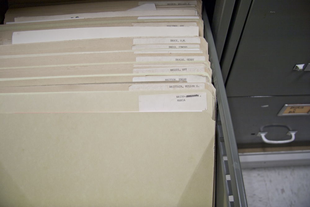 Folder, American Art Museum Library Vertical Files