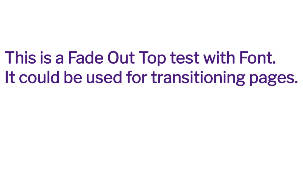 fade-out-test