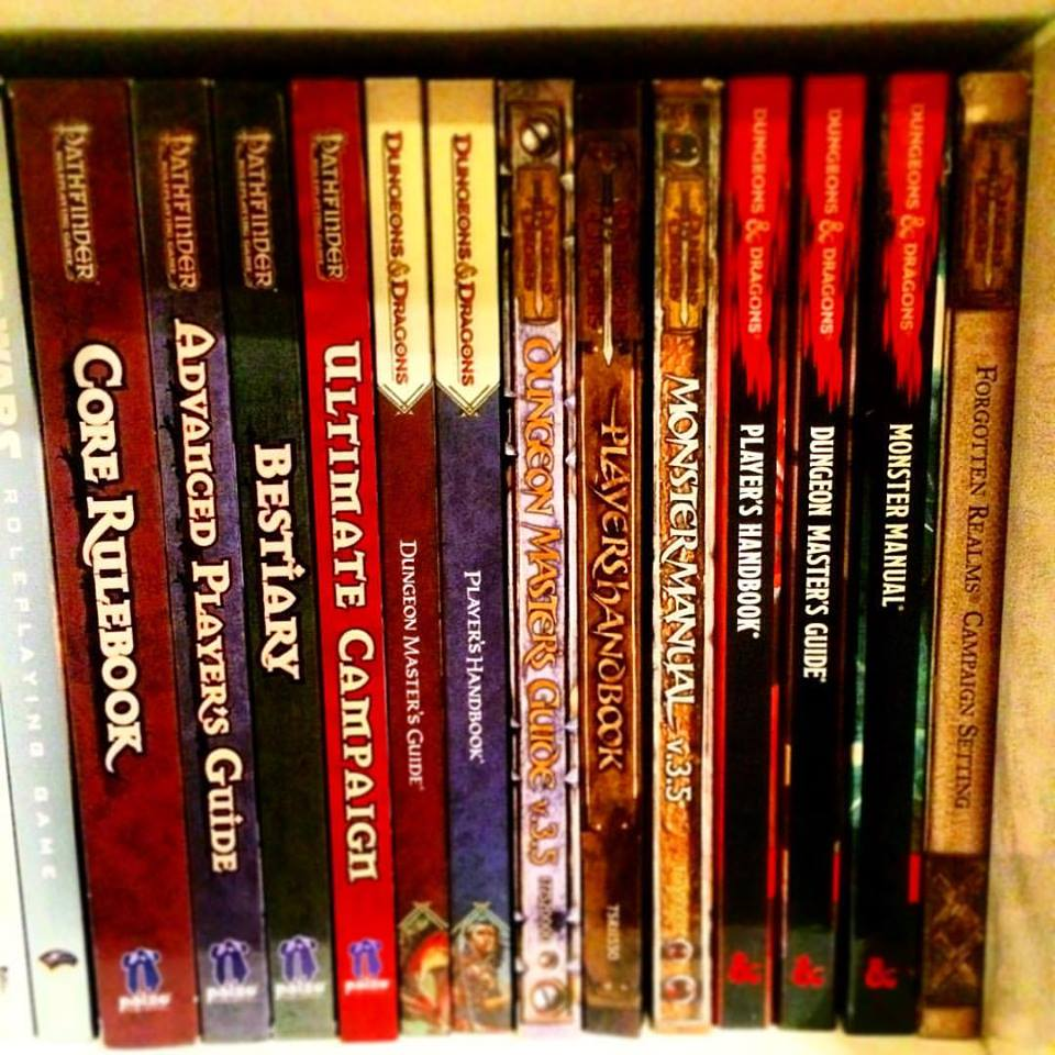 RPG Bookcase