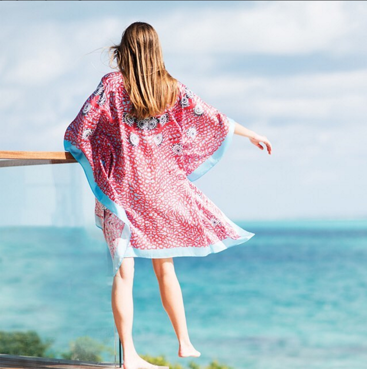 • sea fan - cape style kaftan •