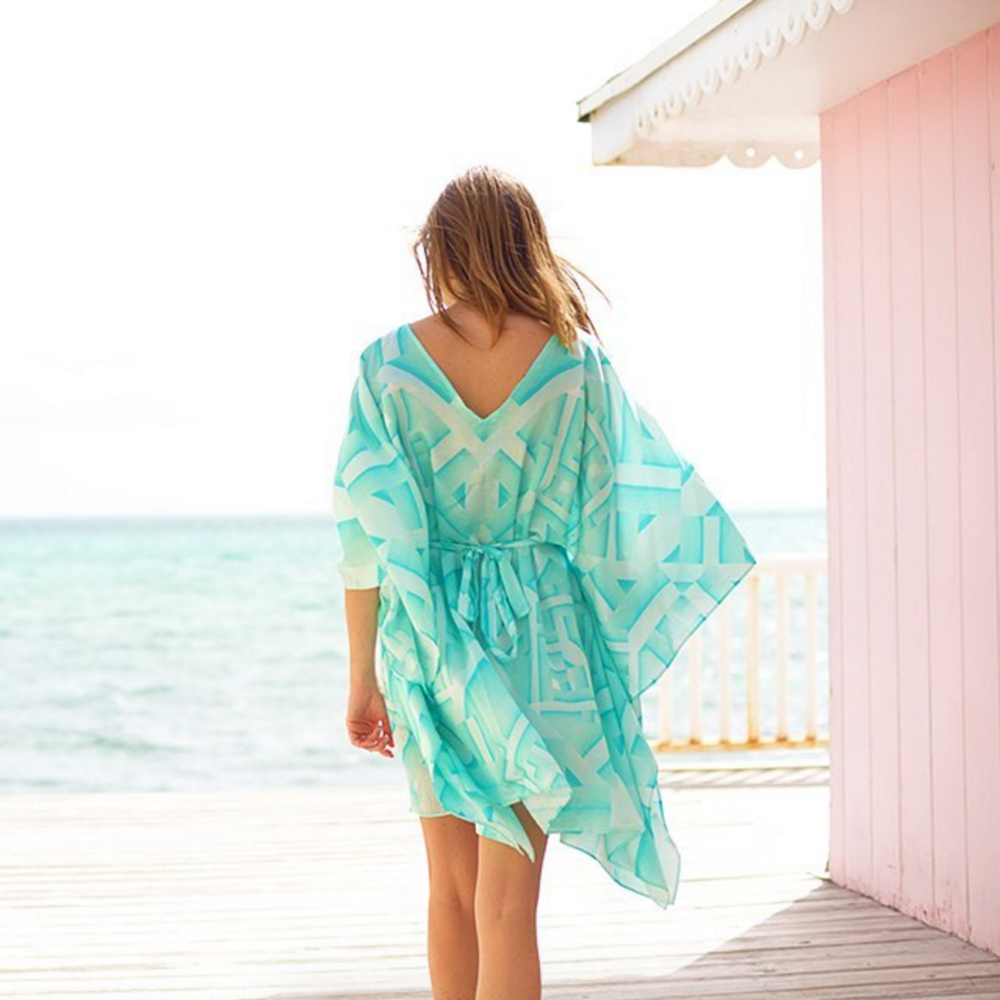 • pattern of paradise - the oceanic kaftan • Delete Comment
