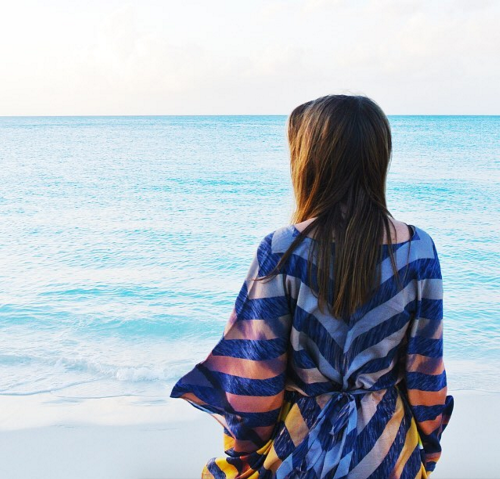 • to the sea - the sunset kaftan •