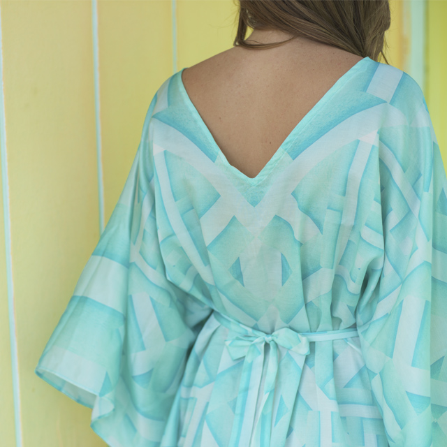 • statement back - the oceanic kaftan •
