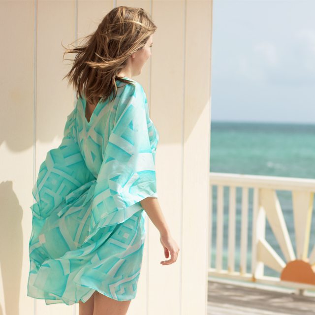 • channel the tropics - the oceanic kaftan •