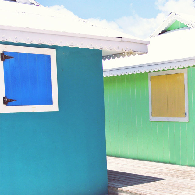 • weekend inspiration - bright colours •