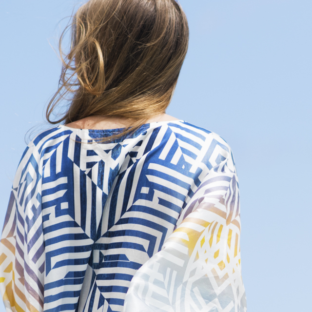 • weekend wear - the dusk kaftan •