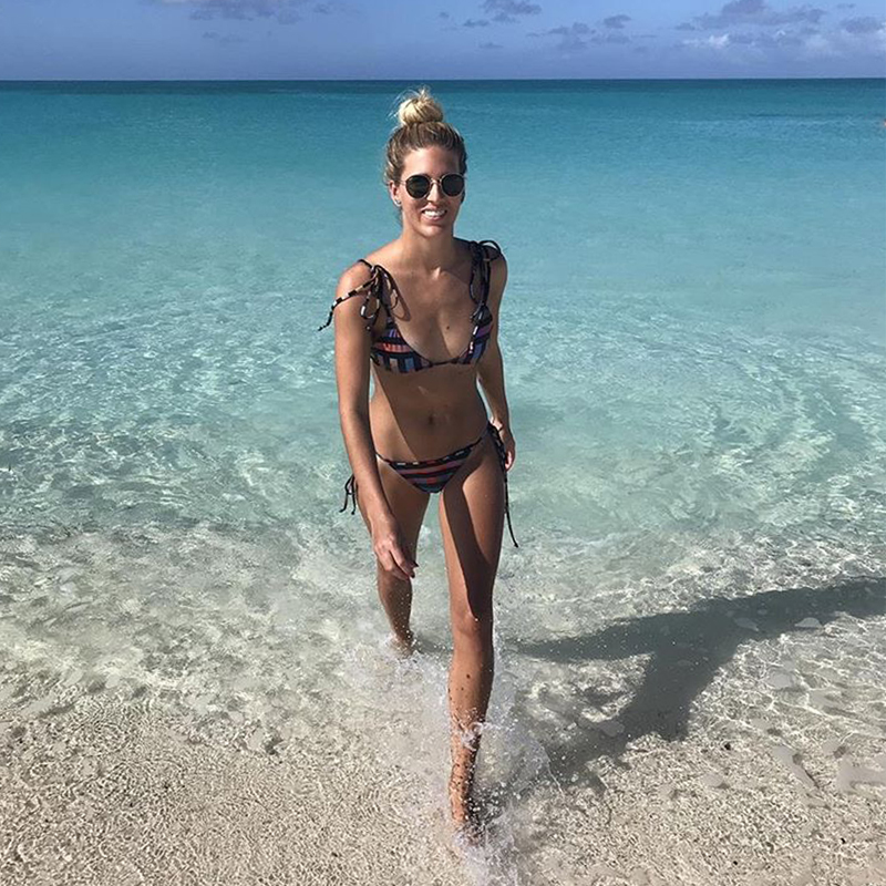 • #seasagespotted - the carib bikini - providenciales, turks & caicos- @syd_danielle •