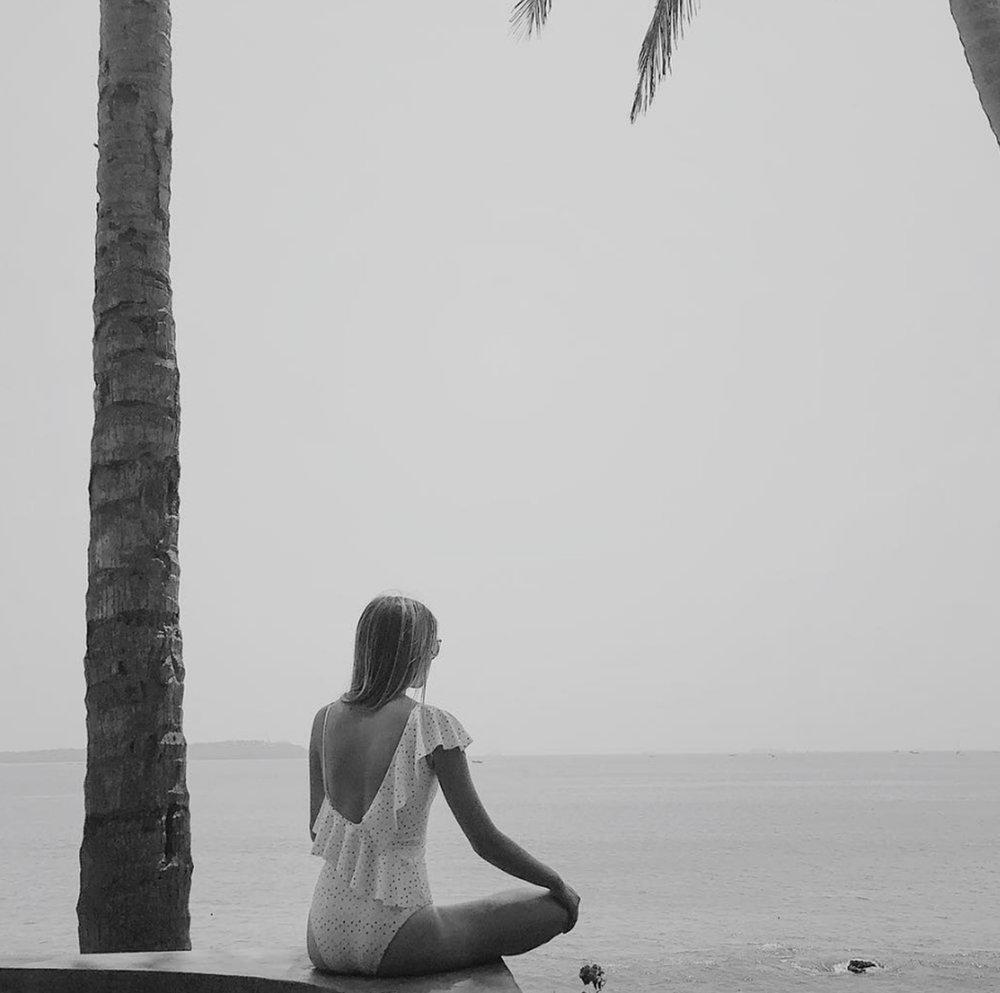 • hazy days along the bay - nerul, goa, india •