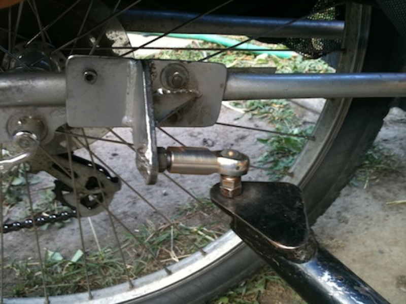 The trailer hitch