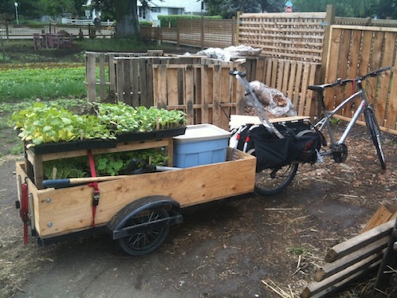 Trailer and Bike with xtracycle