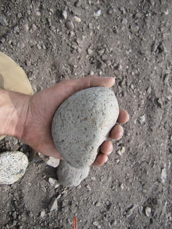 rock size